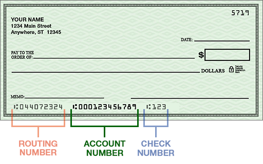 Bank Account Registration and ACH Authorization